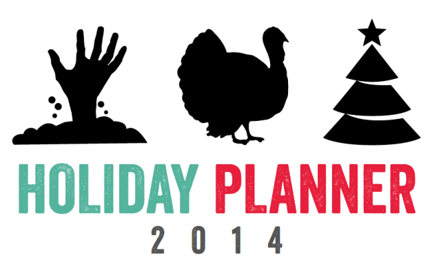 Holiday Planner 2014