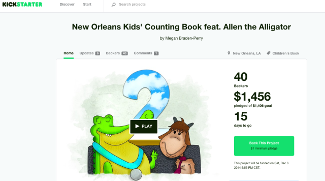 The book is fully funded!