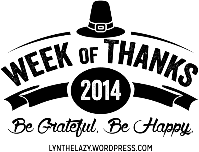 Week of Thanks